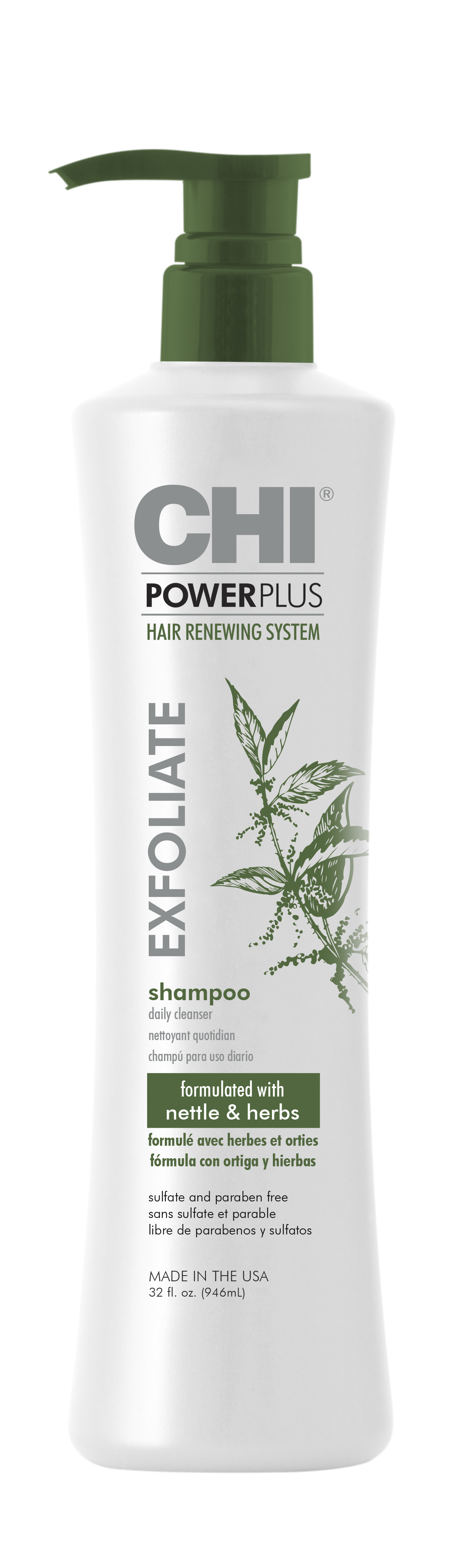 CHI Power Plus Line - Shampoo 32oz
